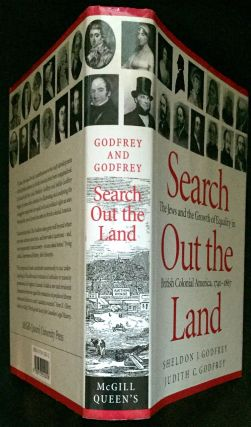 SEARCH OUT THE LAND; The Jews and the Growth of Equality in British Colonial America, 1740-1867