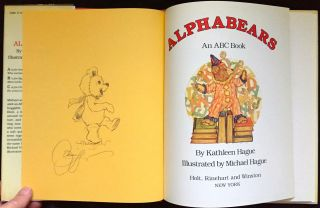 ALPHABEARS; An ABC Book / Illustrated by Michael Hague