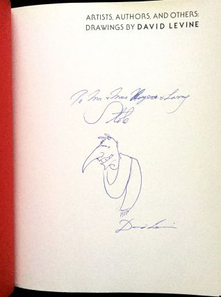 ARTISTS, AUTHORS, AND OTHERS: DRAWINGS BY DAVID LEVINE; Introduction by Daniel P. Moynhan / March 4--June 6, 1976