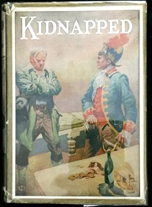 KIDNAPPED; Introduction and Notes by Myrtle L. Kaufmann / Illustrated by Frank Godwin. Robert...