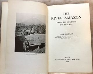 THE RIVER AMAZON; From Its Sources to the Sea
