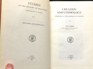 CREATION AND COSMOLOGY; A Historical and Comparative Inquirey