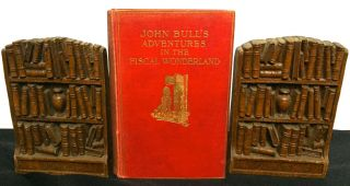JOHN BULL'S ADVENTURES IN THE FISCAL WONDERLAND; with forty-six illustrations by F. C. G. Lewis...