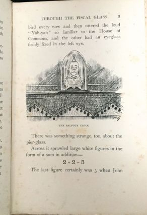 JOHN BULL'S ADVENTURES IN THE FISCAL WONDERLAND; with forty-six illustrations by F. C. G.