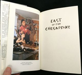 EAST OF THE CHESAPEAKE; Illustrations by the Author / With an Introduction by Tom Horton