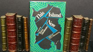 THIS ISLAND, NOW; a novel by Peter Abrahams. Peter Abrahams.