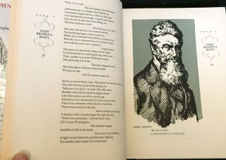 JOHN BROWN'S BODY; with Illustrations by Fritz Kredel and Warren Chappell