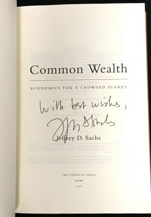 COMMON WEALTH; Economics for a Crowded Planet