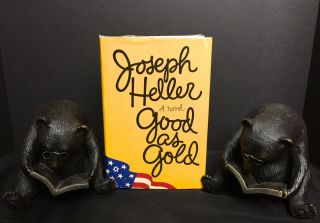 GOOD AS GOLD; A Novel. Joseph Heller