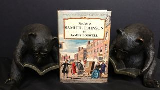 THE LIFE OF SAMUEL JOHNSON; Abridged, with an Introduction by Bergen Evans. James Boswell.