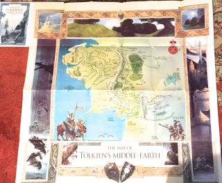 THERE AND BACK AGAIN: The MAP of THE HOBBIT plus A MAP of Tolkien's MIDDLE-EARTH. J. R. R....