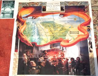 THERE AND BACK AGAIN: The MAP of THE HOBBIT plus A MAP of Tolkien's MIDDLE-EARTH