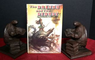 THE DRAGON AND THE GEORGE. Gordon R. Dickson