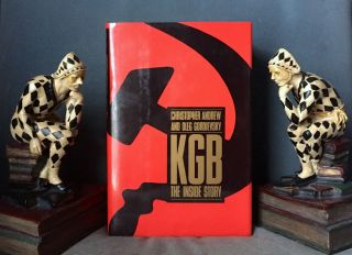 KGB; The Inside Story / Of Its Foreign Operations from Lenin to Gorbachev. Christopher Andrew,...