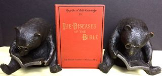 THE DISEASES OF THE BIBLE; By-Paths of Bible Knowledge. IX. MD Bennett, Sir Risdon, FRS, LLD