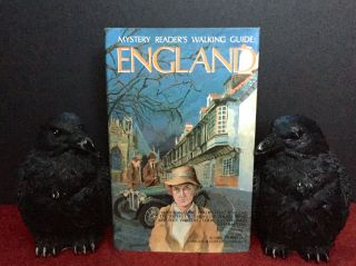 Mystery Reader's Walking Guide: ENGLAND; Interior Maps by Alisa Mueller Burkey. Alzina Stone...