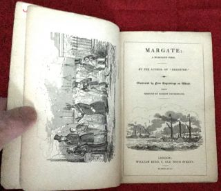 MARGATE:; A Humorous Poem / Illustrated by Fine Engravings on Wood, by C. W. Bonner, and others, FROM DESIGNS BY ROBERT CRUIKSHANK