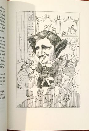 THE SNARK WAS A BOOJUM; A Life of Lewis Carroll / with Drawings by David Levine