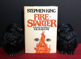 FIRE-STARTER. Stephen King.