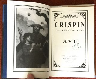 CRISPIN; The Cross of Lead