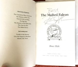 THE MALTED FALCON; A Chet Gecko Mystery