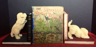 SPARKLES FOR BRIGHT EYES; With Contributions by Louisa M. Alcott, Olive Thorne, Laurie Loring,...