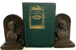 THE HISTORY OF THE POSTHUMOUS PAPERS OF THE PICKWICK CLUB