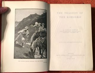 The Tragedy of the Korosko; With Forty Full-Page Illustrations
