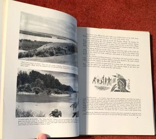 Two Captains West; An Historical Tour of the LEWIS and CLARK Trail / Drawings by Carter Lucas