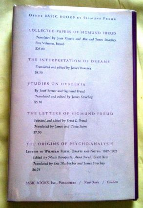 SIGMUND FREUD; Three Essays on the Theory of Sexuality
