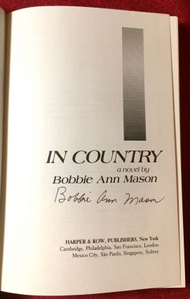 In Country; A Novel