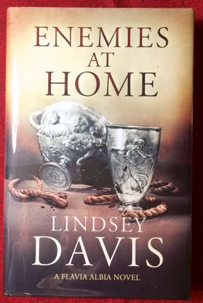 Enemies at Home; A Flavia Albia Novel by Lindsey Davis. Lindsey Davis