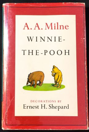 WINNIE-THE-POOH; With Decorations by Ernest H. Shepard