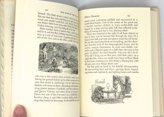 The Wind In The Willows; Illustrated by Ernest H. Shepard
