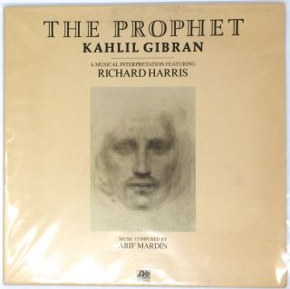 THE PROPHET; A Musical Interpretation Featuring RICHARD HARRIS / Music composed by Arif Mardin....