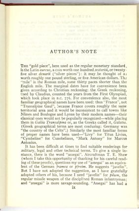 I, Claudius; From the Autobiography of Tiberius Claudius Born B.C. 10 / Murdered and Deified A.D. 54