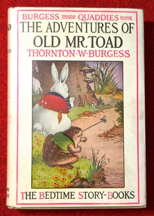 The Adventures of Old Mr. Toad; With Illustrations by Harrison Cady