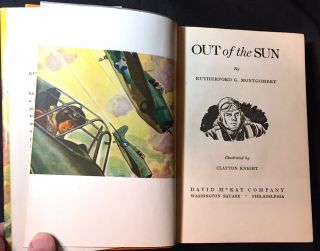 OUT OF THE SUN; Illustrated by Clayton Knight