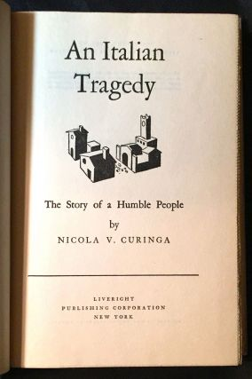 An Italian Tragedy; The story of a humble people