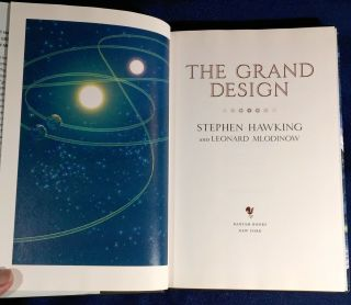 THE GRAND DESIGN; Leonard Mludinow and Leonard Mludinow