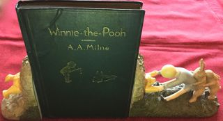 WINNIE-THE-POOH; by A. A. Milne With Docorations By Ernest H. Shepard. A. A. Milne.