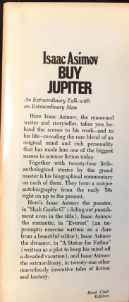 BUY JUPITER; AND OTHER STORIES