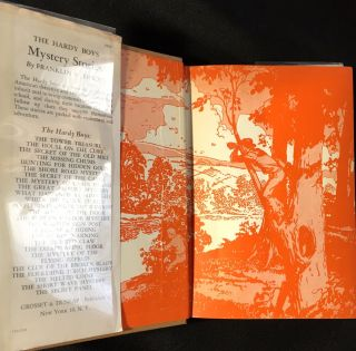 THE MISSING CHUMS; The Hardy Boys Mystery Stories