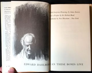 Can These Bones Live; with Forty-two Drawings by James Kearns / and a Preface by Sir Herbert Read