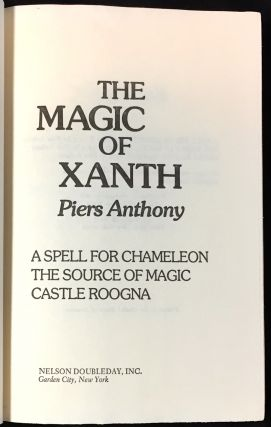 THE MAGIC OF XANTH; A Spell for Chameleon / The Source of Magic / Castle Roogna