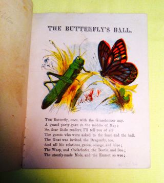 THE BUTTERFLY'S BALL; Mother's Series