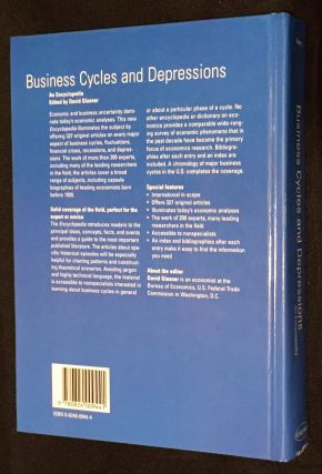 BUSINESS CYCLES AND DEPRESSIONS:; An Encyclopedia (Garland Reference Library of Social Science)
