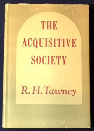 THE ACQUISITIVE SOCIETY. R. H. Tawney