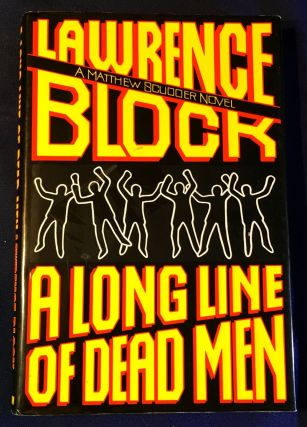 A LONG LINE OF DEAD MEN (Matthew Scudder). Lawrence Block