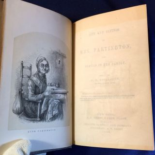 LIFE AND SAYINGS OF MRS. PARTINGTON; and Others of the Family / Edited by B.P. Shillaber